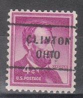 USA Precancel Vorausentwertung Preo, Locals Ohio, Clinton 712 - United States