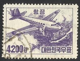 KOREA SOUTH--1952. AIRPLANE--USED - Korea, South