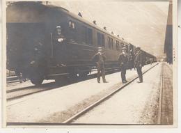 Goeschenen - Train - Entrée Du Tunnel - Photo 9 X 12 Cm - Treinen