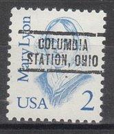 USA Precancel Vorausentwertung Preo, Locals Ohio, Columbia Station 736 - Voorafgestempeld