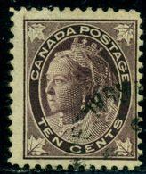 Canada 1898 Queen Victoria,Royalty,Mi.61,VFU - 1851-1902 Regering Van Victoria