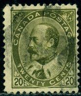 Canada 1903 King Edward VII,Royalty,Mi.82,VFU - 1903-1908 Regering Van Edward VII