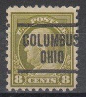 USA Precancel Vorausentwertung Preo, Locals Ohio, Columbus 1917-204 - Voorafgestempeld