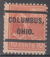 USA Precancel Vorausentwertung Preo, Locals Ohio, Columbus 232 - Voorafgestempeld