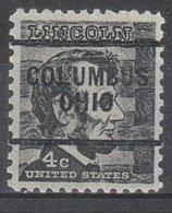 USA Precancel Vorausentwertung Preo, Locals Ohio, Columbus 256 - Voorafgestempeld