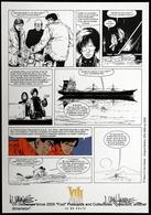 BD XIII Vance Van Hamme Cartoon 13 Secret Défense Bateau Zodiac. Bateau Cargo. Zodiac Boat. Cargo Ship. - Barche