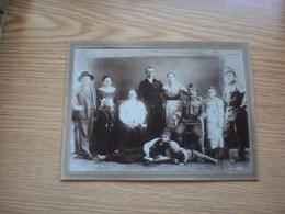 Old Cardboard Soldiers Family 13x17.5 Cm - Oorlog, Militair