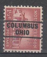 USA Precancel Vorausentwertung Preo, Locals Ohio, Columbus 745 - Voorafgestempeld