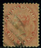 Canada 1859 Queen Victoria,Royalty,Mi.10,VFU - 1851-1902 Regering Van Victoria
