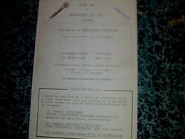 """Médical Document à Entête  Station Thermale """"lEuros Therme """" De Châtel -Guyon Auvergne Année 1980 - France"""