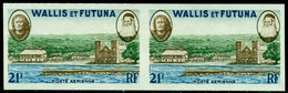 Wallis &Futuna 1960 Queen Amelia,Battalion,Church,missionary,Imp. Pair,M.190,MNH - Iglesias Y Catedrales