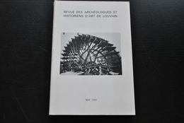 REVUE DES ARCHÉOLOGUES ET HISTORIENS D'ART DE LOUVAIN 14 81 Waremme Moulins à Eau Thyle Dyle Méhaigne Serrurerie Masque - Art