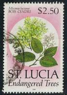 Scott 962   $2.50 Bois Cendre Trees In Danger Of Extinction. Used. - St.Lucie (1979-...)