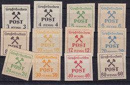 Dt.Lokalausgaben Grossräschen Nr.31-42 ** - Duitsland