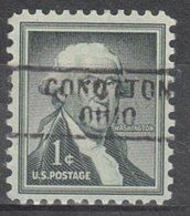 USA Precancel Vorausentwertung Preo, Locals Ohio, Conotton 729 - Voorafgestempeld