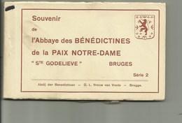 Brugge - Serie 2 : Boekje Met 15 Postkaarten- Abdij Der Benedictine Boeveriestraat - Brugge