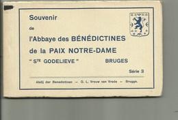 Brugge - Serie 3 : Boekje Met 15 Postkaarten- Abdij Der Benedictine Boeveriestraat - Brugge