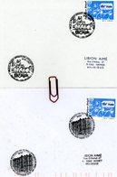 100 Ans De La FUCAM : Sur Lettres Avec 2 Cachets DIFFERENTS De Prévente (voir Scan & Descr) - Postmark Collection