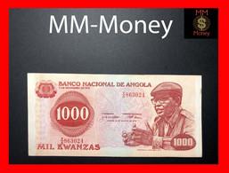 ANGOLA 1.000 1000 Kwanzas 14.8.1979 P. 117 VF ++ - Angola
