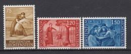 LIECHTENSTEIN - Michel - 1960 - Nr 395/97 - MNH** - Liechtenstein