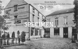 Cour De L'Hôtel De L'ancienne Ferme De La Belle Alliance - Grande Espinette 1921 - Rhode-St-Genèse - Sint-Genesius-Rode - Rhode-St-Genèse - St-Genesius-Rode