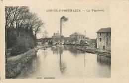 CORVOL-L'ORGUEILLEUX  La Papeterie. - Otros Municipios