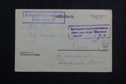 FRANCE - Carte D'un Prisonnier De Guerre En Allemagne Pour Adresse Pour Colis Pour Paris En 1917 - L 61637 - Guerre De 1914-18