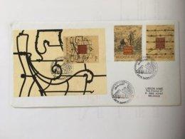 Musées : 2682/83 Et BF 74 (2684) Sur Lettres Avec 2 Cachets DIFFERENTS De Prévente (voir Scan & Descr) - Postmark Collection