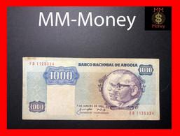 ANGOLA 1.000 1000  Kwanzas 7.1.1984 P. 121 A  Fine+ - Angola