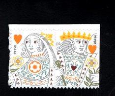 1007573420 SCOTT 4405A POSTFRIS MINT NEVER HINGED EINWANDFREI (XX) -  LOVE KING AND QUEEN OF HEARTS 4405 FIRST - Verenigde Staten
