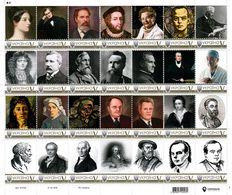 Ukraine 2020, World Medicine, Mathematics, Literature, Painting, Sheetlet Of 28v - Ukraine