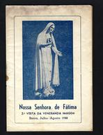 Livro 24 Paginas VISITA Nossa Senhora FATIMA A SINTRA Em 1958. Tipografia Minerva Sintrense PORTUGAL - Old Paper