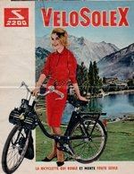1962 Prospectus Catalogue PUB SOLEX VELOSOLEX S 2200 N°494 - Vervoer