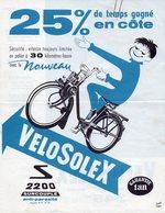 1961 Prospectus PUB SOLEX VELOSOLEX S 2200 N°493 - Vervoer