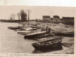 Le  Vivier  Sur  Mer -   Départ  Des  Barques  Pour  La  Pêche. - Autres Communes