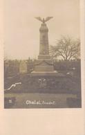 08 - CHATEL / CARTE PHOTO ALLEMANDE MONUMENT ALLEMAND - Altri Comuni
