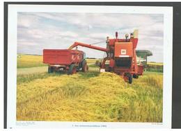 Agriculture : Moissonneuse-batteuse 1963  D.P. N°113 H De Février 1964 Photo N°3 - Repro's