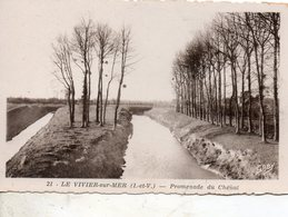 Le  Vivier  Sur  Mer -  Promenade  Du  Chenal. - Autres Communes