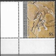 2011 Allem. Fed. Deutschland   Mi. 2887**MNH EOR  150. Jahrestag Der Entdeckung Des Archaeopteryx. - [7] République Fédérale