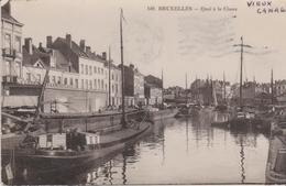 CP - BRUXELLES - QUAI A LA CHAUX - Maritime