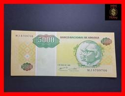 ANGOLA 5.000 5000 Kwanzas Reajustados 1.5.1995 P. 136 XF - - Angola