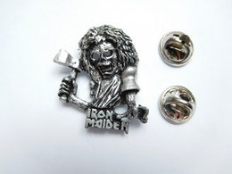 Beau Pin's En Relief , Musique , Iron Maiden ,  Groupe De Heavy Metal Britannique , Tête De Mort - Musik