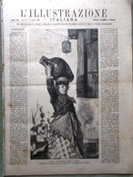 L'Illustrazione Italiana 6 Luglio 1890 Helgoland Esposizione Milano Nera Africa - Vor 1900