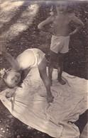 KIDS Children Two Little Girls  Beach Summer Swimsuit  - Enfants Filles  Plage Maillot De Bain D'été - Anonieme Personen