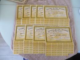 Gros Lot De +++++++ De 110 Exemplaires De Titres Divers,,j'ai Photographié Au Mieux,, Et Certains Documents Non Comptés - Actions & Titres