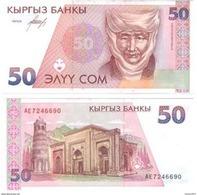 Kyrgyzstan - 50 Som 1994 UNC - Kirguistán