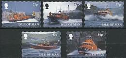 Ile De Man 1999 Yvertn° 838-842 *** MNH Cote 10 Euro Bateaux Boten Ships - Isle Of Man