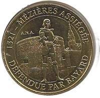 Mézières - 08 : Mézières Assiégée, Défendue Par Bayard (Monnaie De Paris - 2018) - 2018