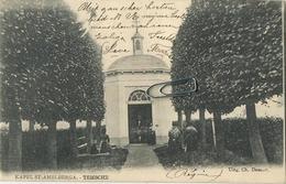 TEMSE  :   Kapel     (  1905  Met Zegel  &  Tax Zegel  ) - Temse