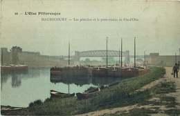 YVELINES  MAURECOURT  Les Peniches Et Le Pont Viaduc - Maurecourt